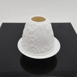 Lladro-Madrid-Porcelain-Lithopane-Votive-Light