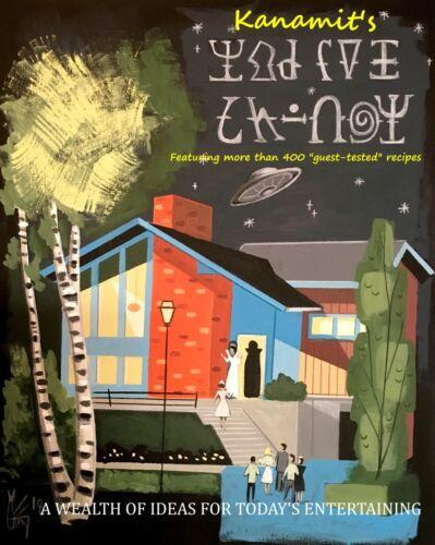 EL GATO GOMEZ BETTY CROCKER HOSTESS COOKBOOK TWILIGHT ZONE MID CENTURY HOUSE