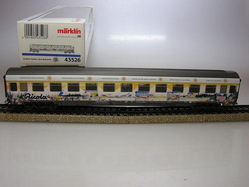 MA  43526  Personen WAGON RICOLA -SNCB nmbs -100% NIEUW   neuf