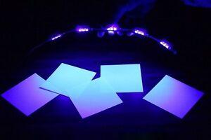 LED-Barre-lumiere-uv-15-x-5050-power-smds-Noir-Lumiere-strip-stripe-poutres-30cm