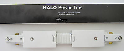 Halo Lighting L-902-P Flexible Connector for Track Lighting White