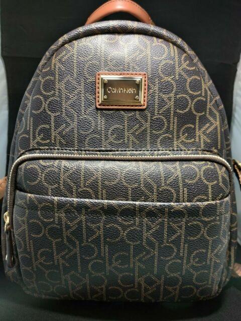 foto de Calvin Klein Womens Hailey City Backpack Bag Orange Fire for sale ...
