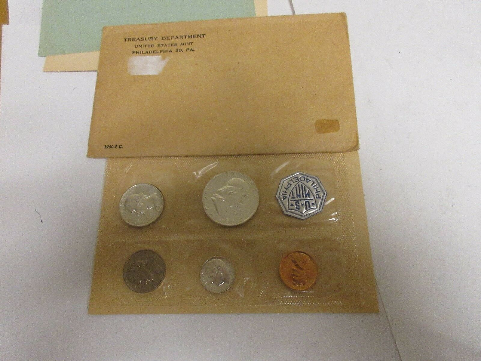 1960 United States Proof Coin Set