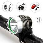 2000Lm CREE XM-L T6 LED Head Front Bicycle Bike Light Headlamp 12000mAh Battery