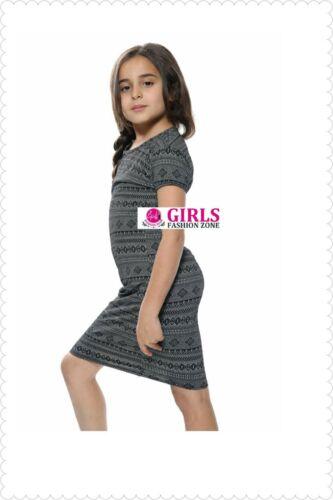 Girls Knitted Bodycon Dress