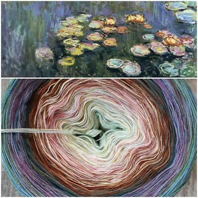 ***Monet`/'s Lilium ***Farbverlaufsgarn Bobbel Zaubermausis Wollstübchen