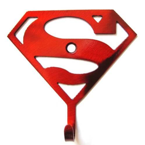 Metal SUPERMAN Superheros Hooks Superhero Hooks Hero Up Hooks Superman Decor