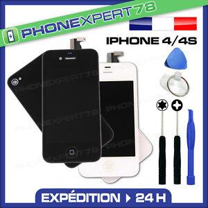 KIT-COMPLET-VITRE-TACTILE-ECRAN-LCD-RETINA-VITRE-ARRIERE-IPHONE-4-NOIR-BLANC