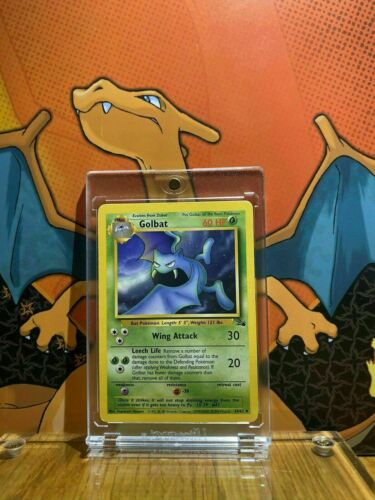 Golbat 34 Fossil Set Uncommon Pokemon Card Near Mint