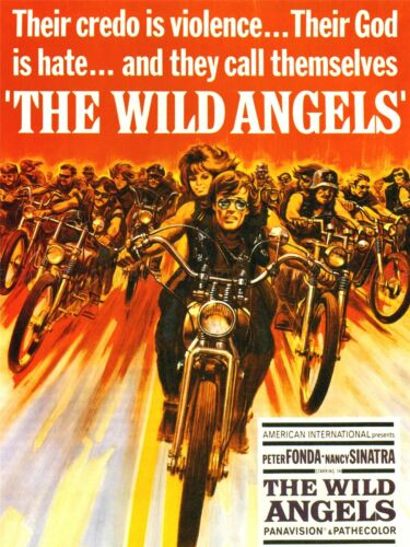 FILM MOVIE WILD ANGELS MOTORCYCLE GANG FONDA SINATRA ART POSTER PRINT LV1639