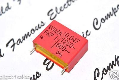 1000V 5/% pitch:37.5mm Capacitor 1pcs 0,2µF 200nF WIMA FKP1 0.2uF