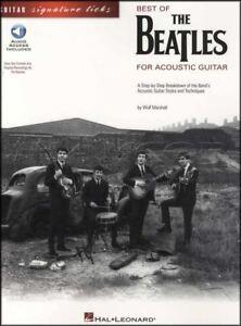 Best Of The Beatles Pour Guitare Acoustique Tab Music Book With Audio Fille Julia-afficher Le Titre D'origine Ture 100% Garantie