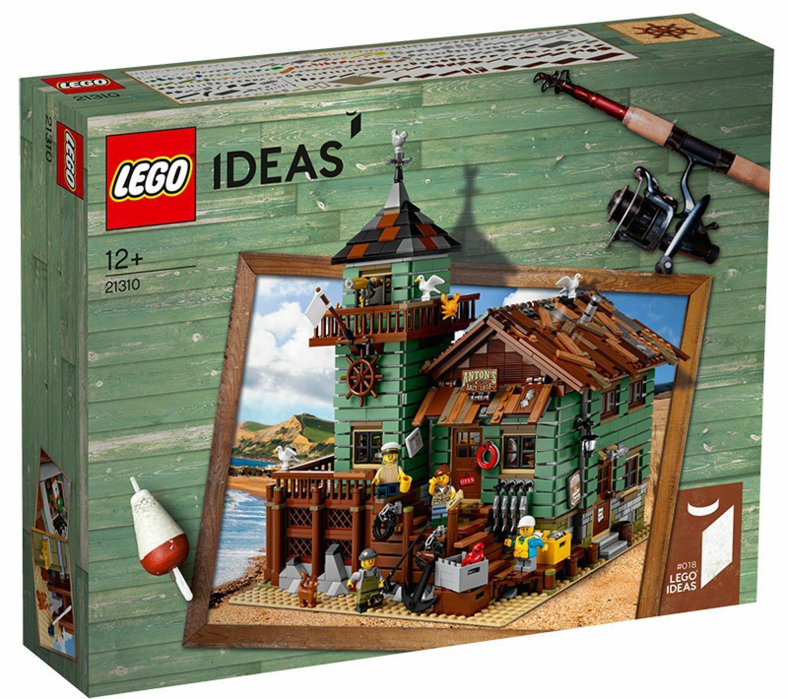 LEGO IDEAS 21310 Alter Angelladen NEW SEALED