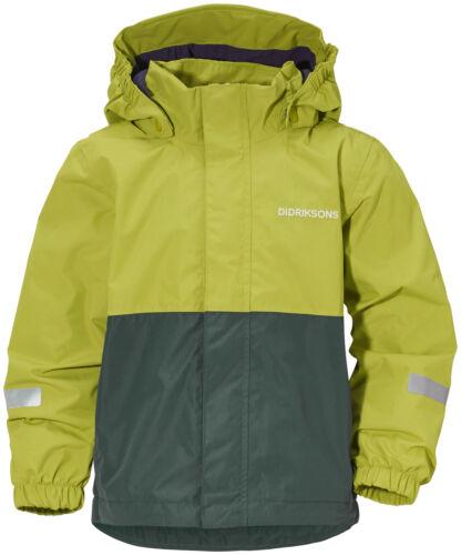 Didriksons Outdoorjacke Adventurejacke Bri Kid/'s Jacket  grün winddicht