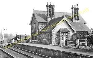 3 Scorton Richmond Moulton Line. Catterick Bridge Railway Station Photo