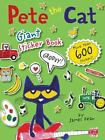 Pete the Cat: Pete the Cat Giant Sticker Book by James Dean (2016, Paperback)