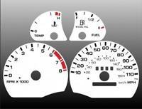 1996-1997 Oldsmobile Cutlass Dash Cluster White Face Gauges 96-97
