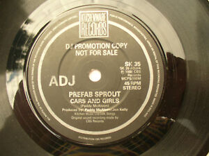 PREFAB-SPROUT-CARS-AND-GIRLS-SAME-rare-kitchenware-demo-promo-sk-35