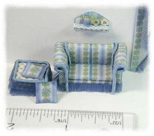 KIT-Blue-Iris-Couch-amp-Ottoman-Pillows-Shelf-kit-1-4-034-1-48-designed-by-J-Day