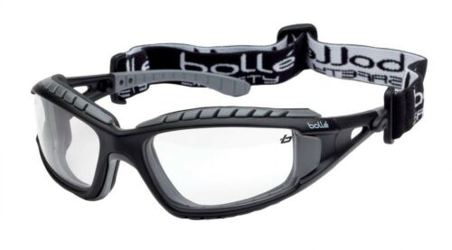 Bolle Tracker II Safety Glasses Clear One Size Fits All