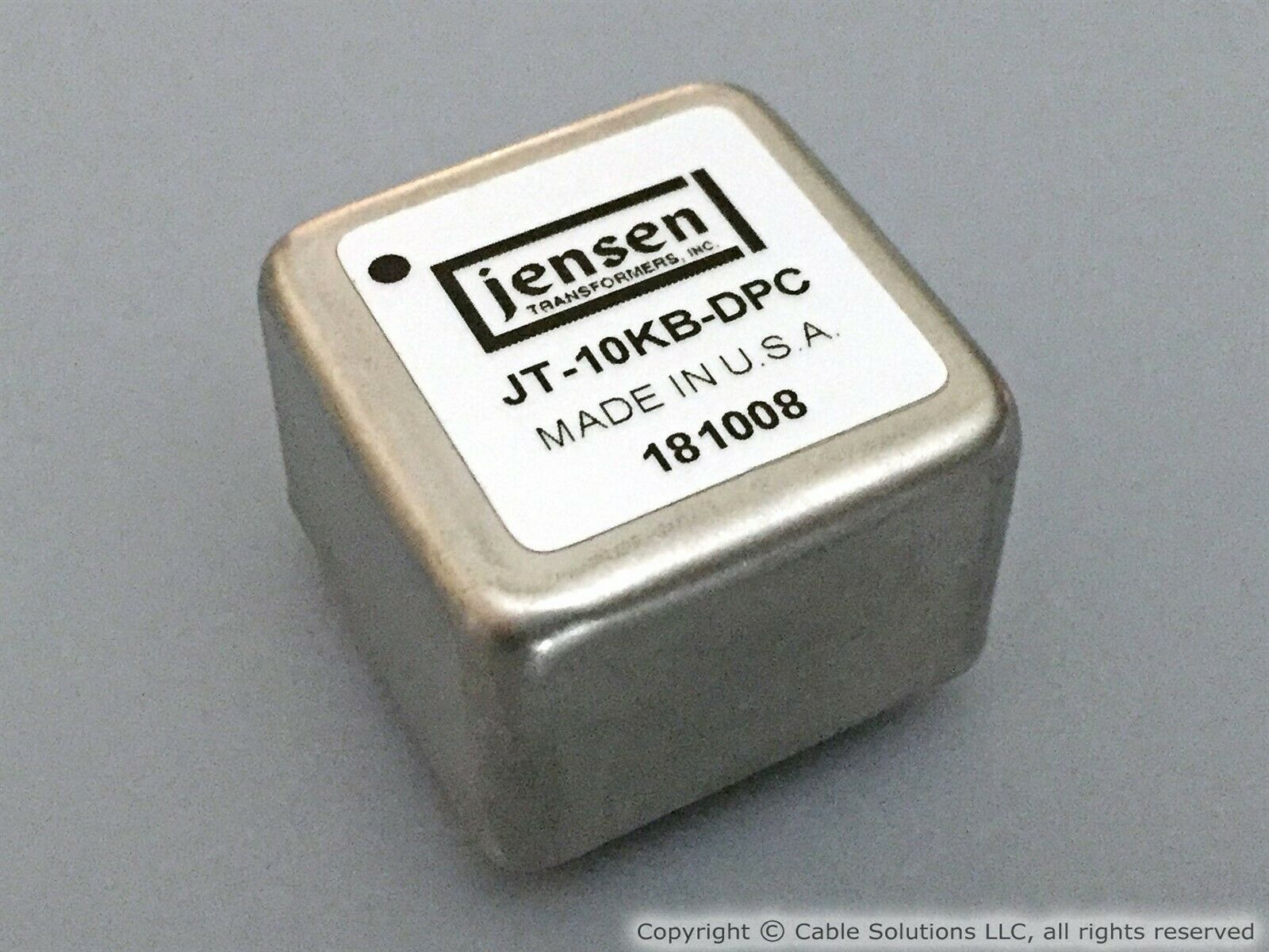 Jensen JT-11SSP-6M Audio Line Input Transformer Free Shipping in the USA