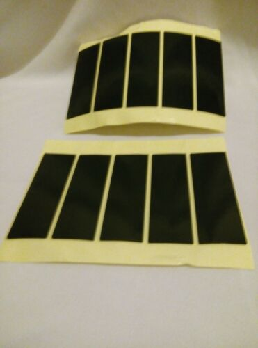 16 NUMBER PLATE STICKY PADS sticky on both sides DOUBLE SIDED ADHESIVE 75X25X1mm