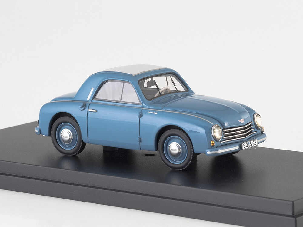 Scale Scale Scale model 1 43 Gutbrod Superior Coupe, bluee 4490bb