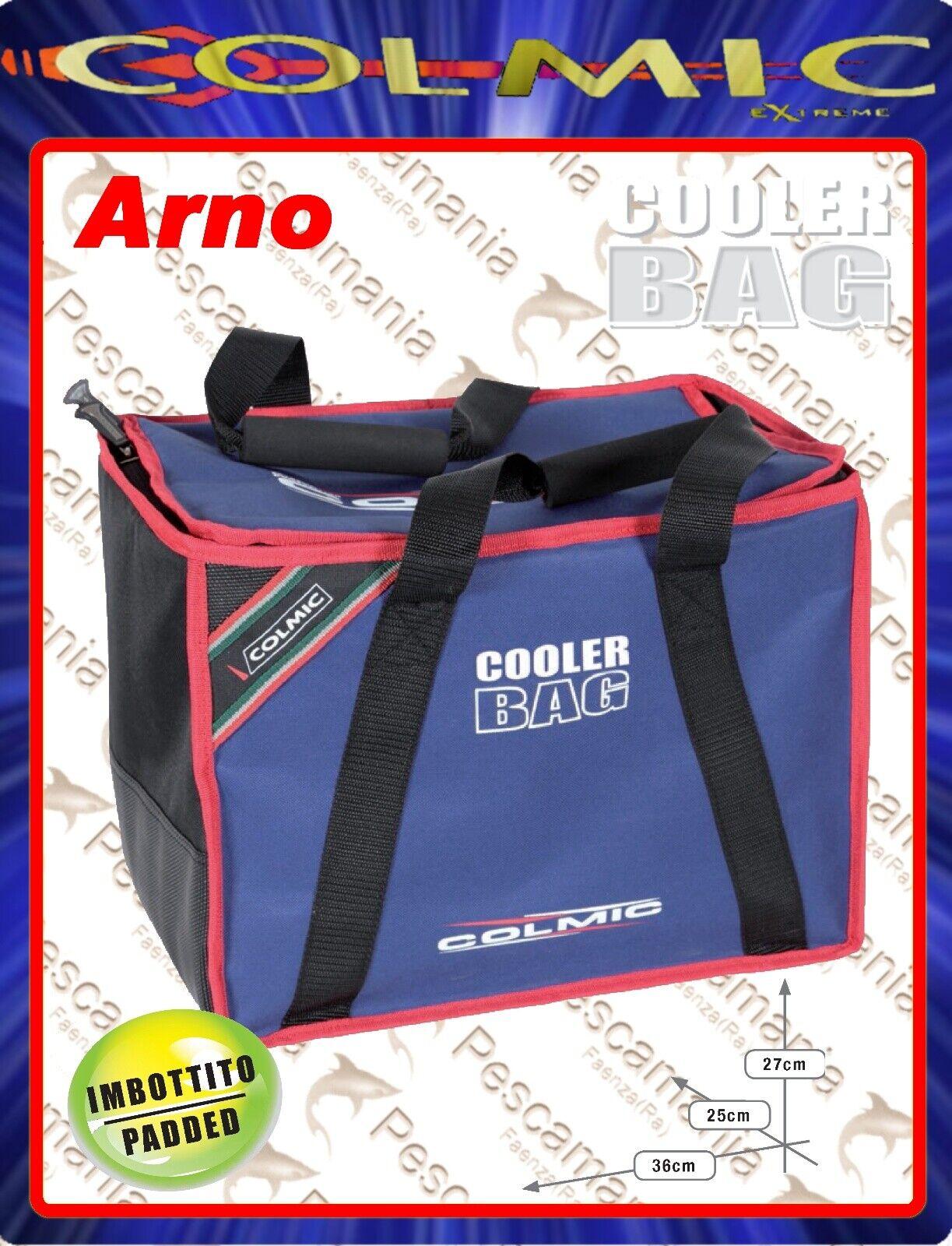 Borsa Frigo Colmic Arno Cooler rojo series rigida  cm36x25 H27  centro comercial de moda