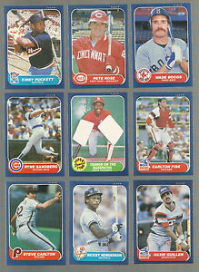 Details About Awesome Lot Of 500 1986 Fleer Baseball Cards With Stars And Hall Of Famers