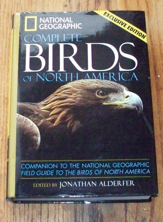 National Geographic Complete Birds Of North America Edition Ebay