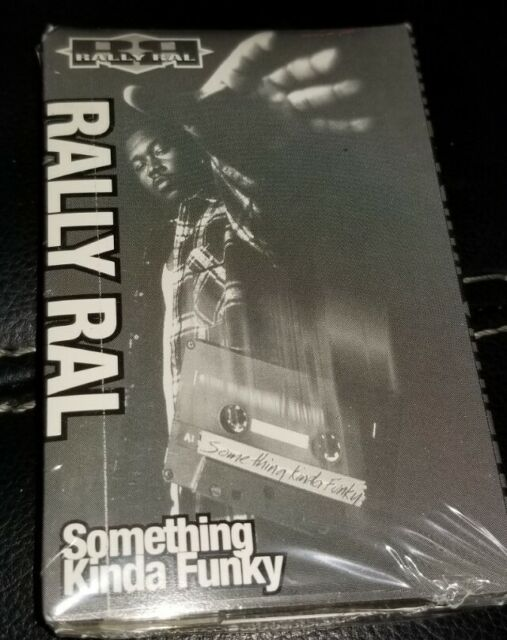 Rally Ral - Something Kind Of Funky Cassette Tape Single master p no limit rare