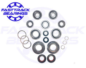 M32 Gearbox Uprated bearing kit  Fits pre 2011 case  9 bearings 3 seals.