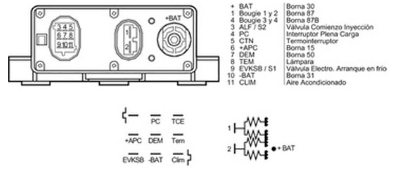Renault 9 11 21 25 Espace 4 iniettori Bosch 0280150126 7700721021 7700724021