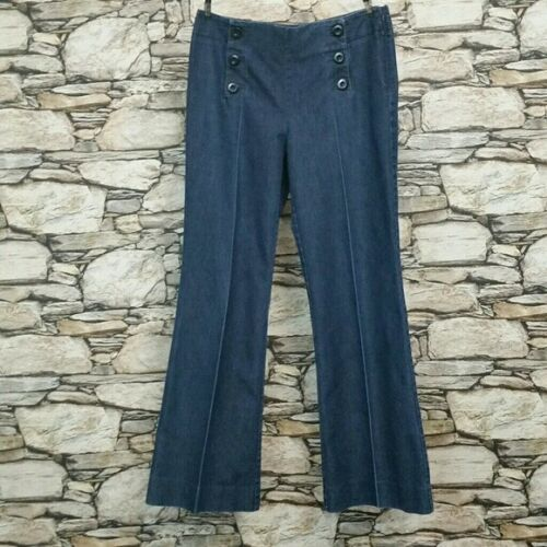 Kenneth Cole Reaction Womens Wide Leg Jeans Size 1