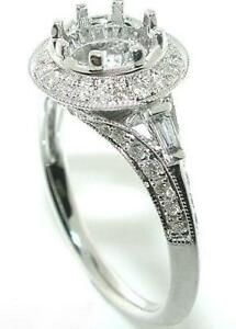 60-CT-ROUND-HALO-DIAMOND-Mounting-RING-Setting-14-KW