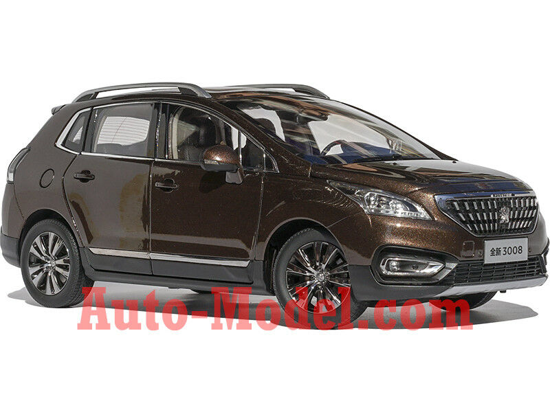 1 1 1 18 Dongfeng Peugeot 2016 3008 Copper Brown Metallic Dealer Edition ae91cd