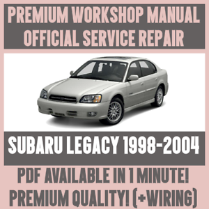 2004 subaru outback workshop manual