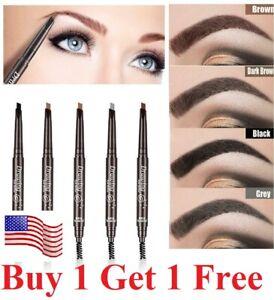 Waterproof-Drawing-Eye-Brow-Eyeliner-Eyebrow-Pen-Pencil-Brush-Makeup-Cosmetic