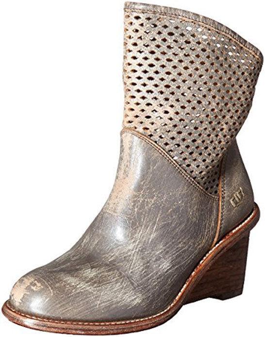 Bed Stu Boots Women's Dutchess Lux Distressed Booties 7