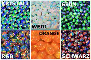 Synthetische-Gilson-Opale-KUGELN-SPHEREN-3-bis-6-mm-Farbvarianten-fuer-Boro
