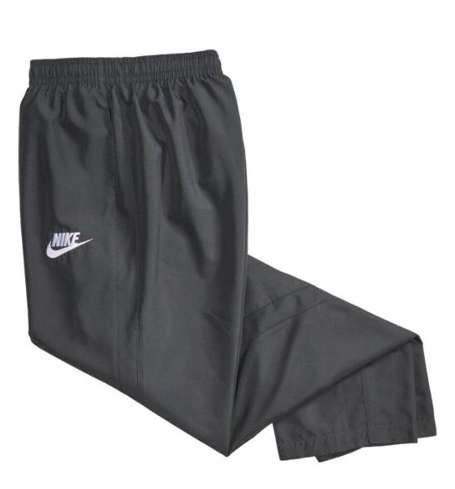 Nike Sportswear Woven Open Leg Hem Pants Black 804314 010 Men/'s Size Large