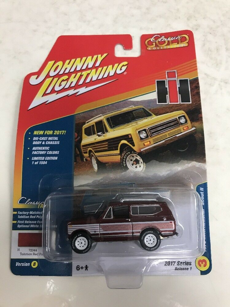 Johnny Lightning 2017 Series Release 1 1979 International Scout II Classic gold