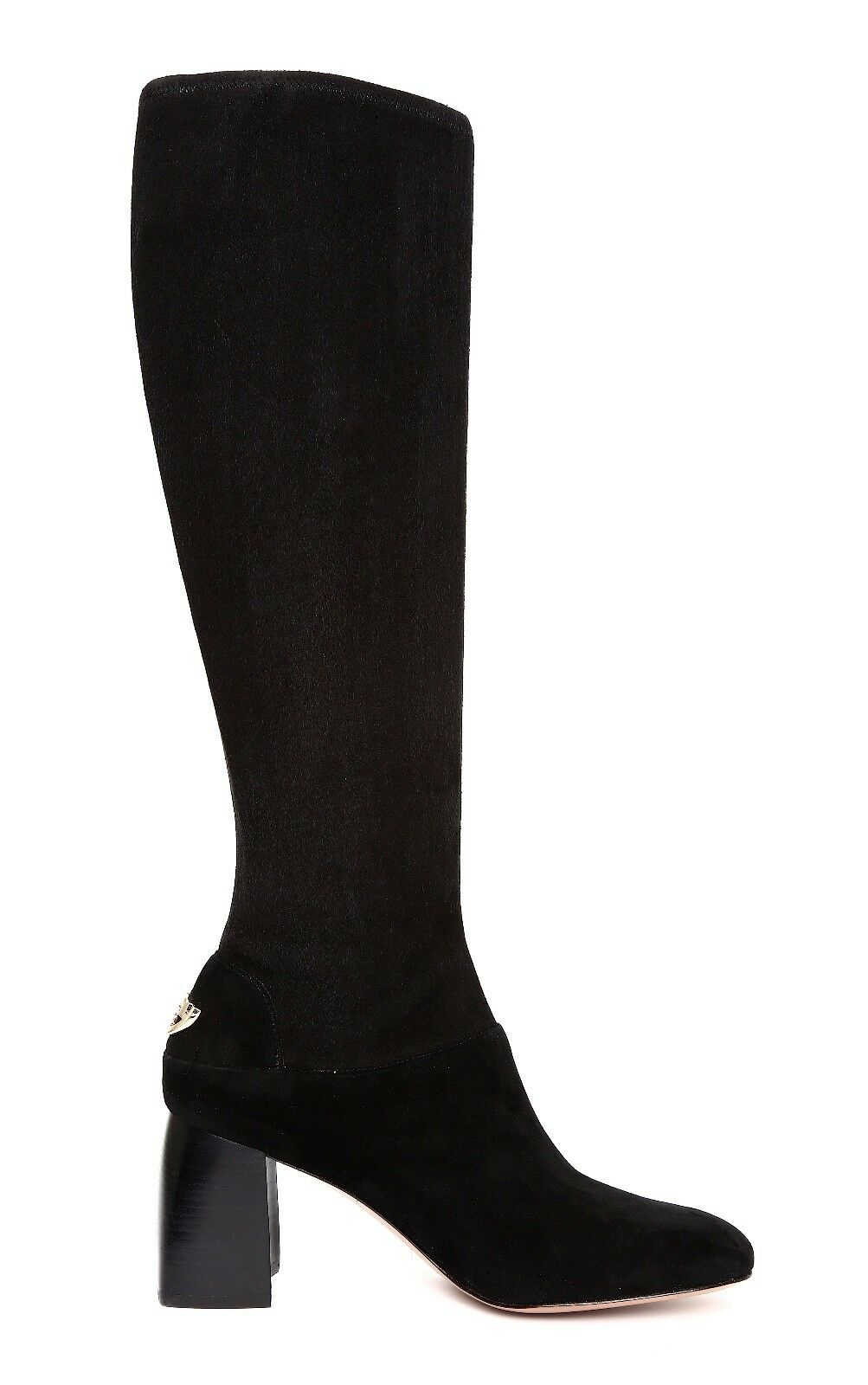 7ccd81a898b3 Tory Burch Sidney 70mm BOOTS Black Stretch Suede Size 9 for sale online