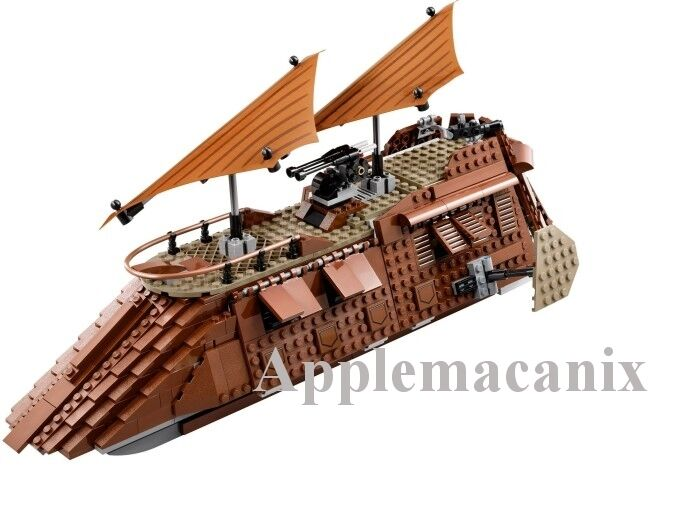 Nuevo Lego Star Wars 75020 Jabba's Sail Barge con Manual -  sin minifiguras