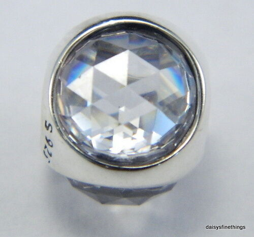 a09f7166b Authentic PANDORA Radiant Droplet Charm Clear CZ 792095CZ for sale online |  eBay