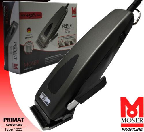 Moser Capelli Schneider tipo 1233-0051 adjustable Clipper primato Profiline