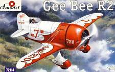 Amodel - Gee Bee R2 R 2 inkl. Decals Modell-Bausatz - 1:72 NEU OVP Tipp kit