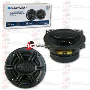 "BRAND NEW BLAUPUNKT 4"" 4-WAY CAR AUDIO COAXIAL SPEAKERS (PAIR) 480W MAX"