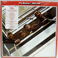 & Sealed The Beatles 1962-1966 Double Lp Vinyl Record Set (red) Free Ship