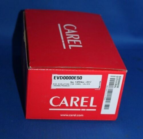 CAREL Temperature Controller EVD0000E50 Steuermodul evolution NEW NEU Neuvo